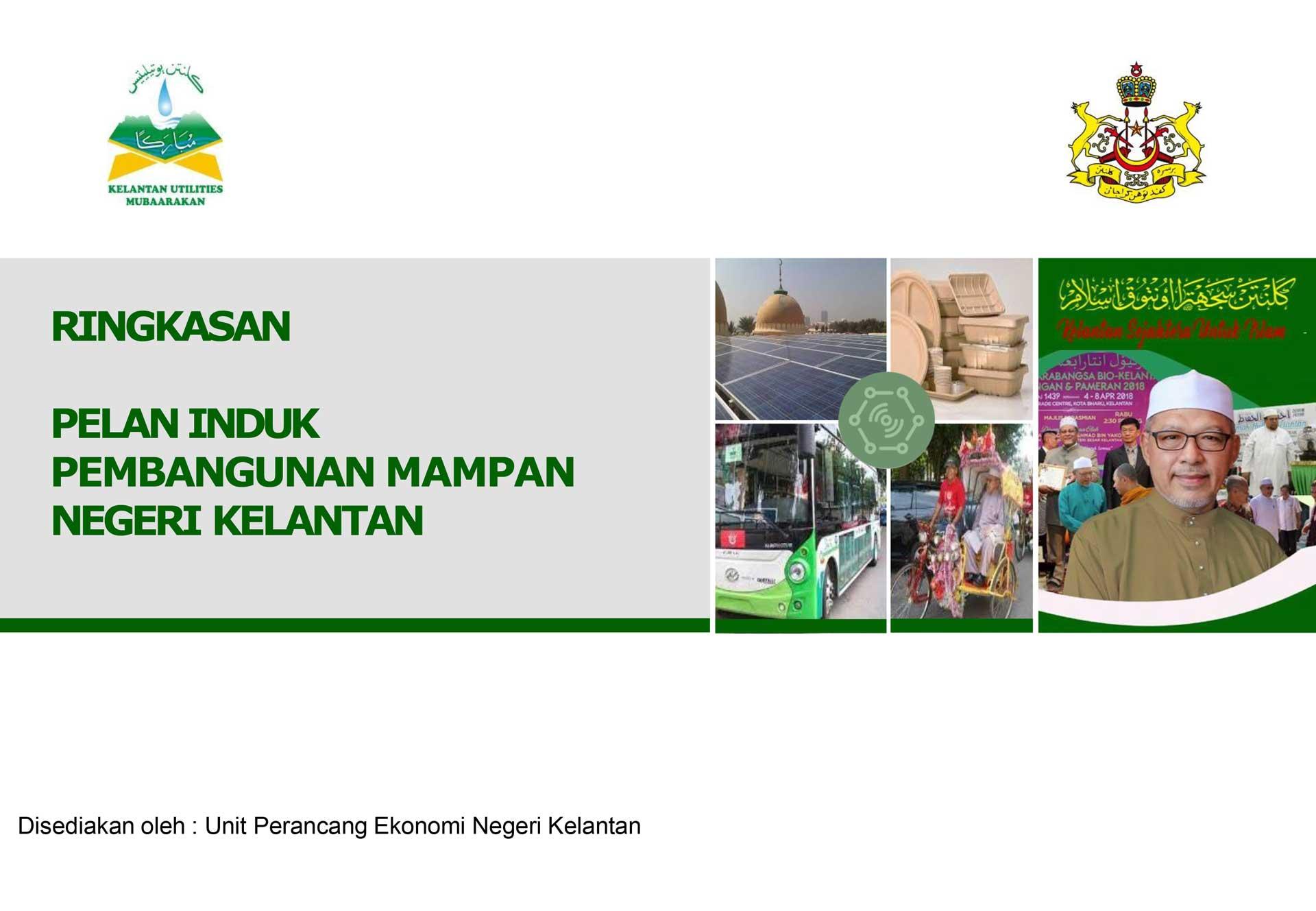 Pelan Induk Pembangunan Mampan Negeri Kelantan 2019-2023