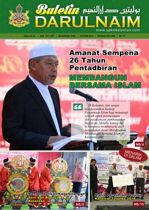 Buletin Darulnaim Oktober 2016
