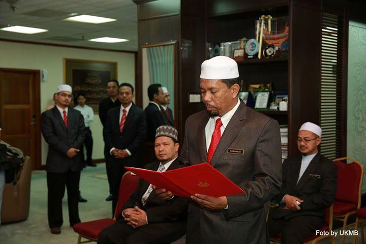 Wan Roslan angkat sumpah SUP MB Kelantan