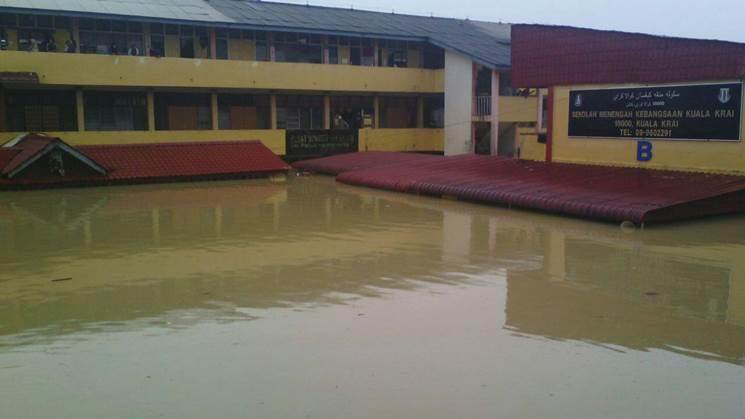 Mangsa banjir Kuala Krai kekal
