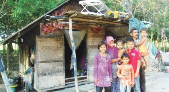 Tujuh beranak dapat rumah Dhuafat