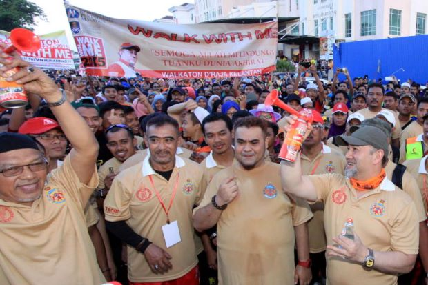 Sultan Kelantan berkenan sertai Walk With Me
