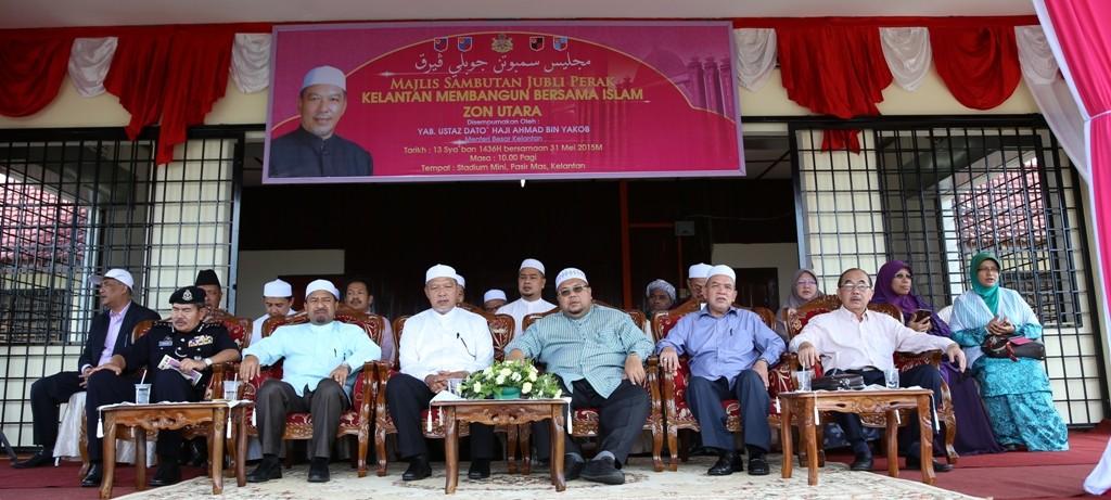 Pimpinan Kerajaan Negeri Kelantan di Majlis Sambutan Jubli Perak