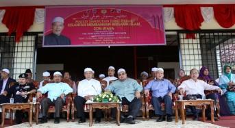 Pembangunan bersepadu dunia dan akhirat -MB Kelantan.
