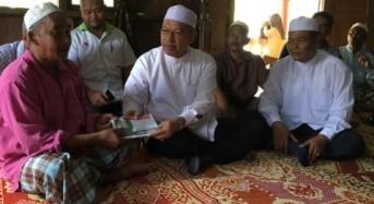 MB ziarah keluarga mangsa kemalangan Chiku 2