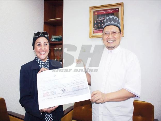 Sumbang RM50,000 kepada Suwaibah