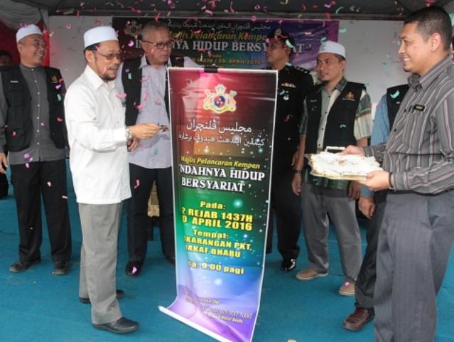 Kempen hidup bersyariat di Kelantan sejak 1990