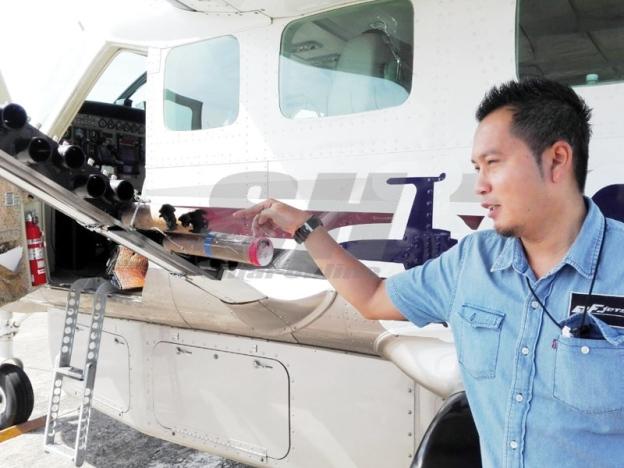Anak jati Kelantan belanja RM300,000 benih awan