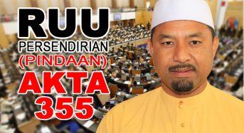 Pindaan Akta 355 – Bukan Islam tidak perlu bimbang