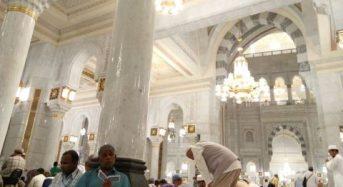 Jemaah haji peluang solat di bangunan baharu