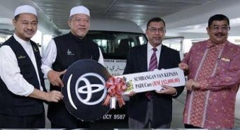 Kelantan sumbang van bantu OKU ke hospital