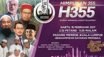 Himpunan 355: Selamat datang umat Islam