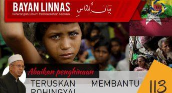 Abaikan Penghinaan, Teruskan Membantu Rohingya!