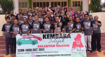 20 Kenderaan Sertai Kembara Jelajah Kelantan Selatan