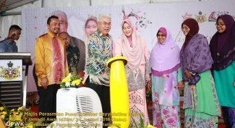 Tengku Temenggong rasmi Pusat Sumber Sayyidatina Habsah