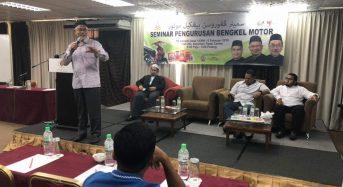Kelantan sedia geran untuk usahawan bengkel motosikal
