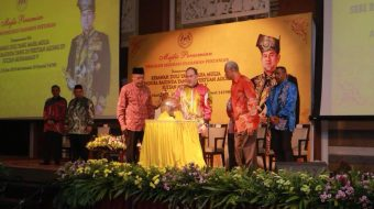 Agong rasmi program Inkubasi Usahawan Pertanian