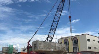 Lawatan Kerja ke Tapak Pembinaan Fly Over di Bandar Tanah Merah