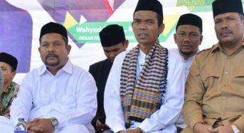 Ustaz Abdul Somad di Hari Murabbi Ummah