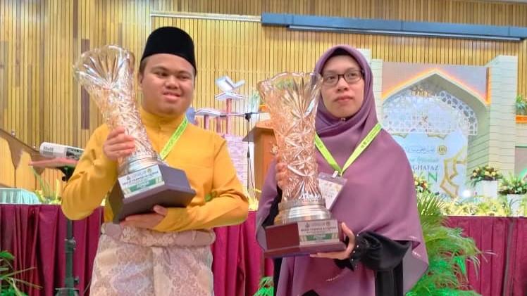 Muhammad Qayyim Dan Wan Sofea Aini Johan Tilawah Peringkat Negeri Kelantan