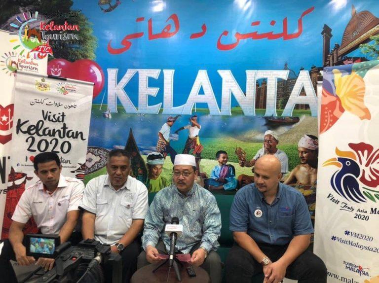 Sekitar Majlis Sambutan Visit Malaysia dan Visit Kelantan Year 2020 di Lapangan Terbang Sultan Ismail Petra Kota Bharu, Kelantan.