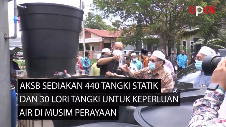 AKSB sediakan 440 tangki statik dan 30 lori tangki untuk bekal air terawat di musim perayaan