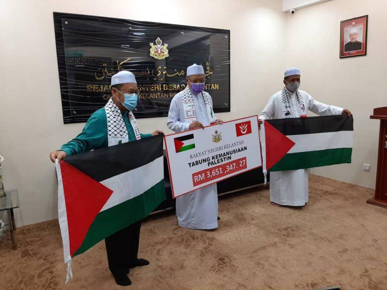 Kutipan Tabung Kemanusiaan Palestin fasa pertama berjaya kumpul lebih RM3 juta