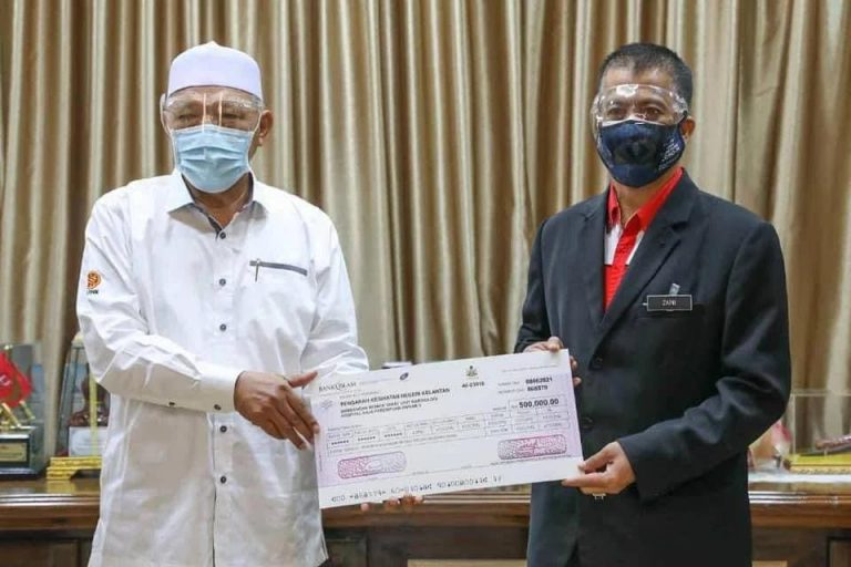 KELANTAN SUMBANG RM500,000 NAIK TARAF HRPZ II DAN PERALATAN PICK
