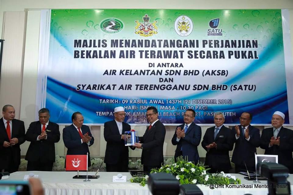 Terengganu bekal air ke sempadan Kelantan