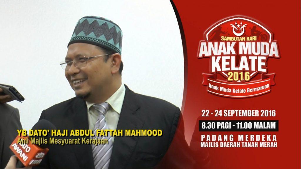 KOTA BHARU: Orang ramai dijemput hadir ke program Sambutan Hari Anak Muda Kelantan 2016 anjuran Urusetia Belia dan Sukan (U-bes) Negeri Kelantan