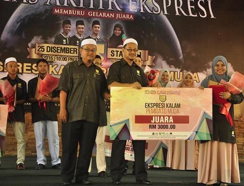 Mashanis muncul juara Ekspresi Kalam