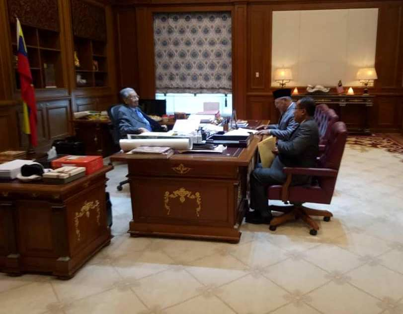 MB Kelantan dan Terengganu temui Perdana Menteri.