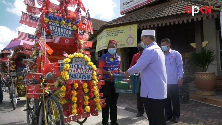 Kelantan agih RM600 kepada penarik beca
